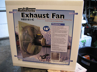 fan carton & Blower windows (blower door alternative) for measuring air infiltration