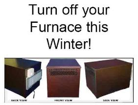Turn off your furnace this winter