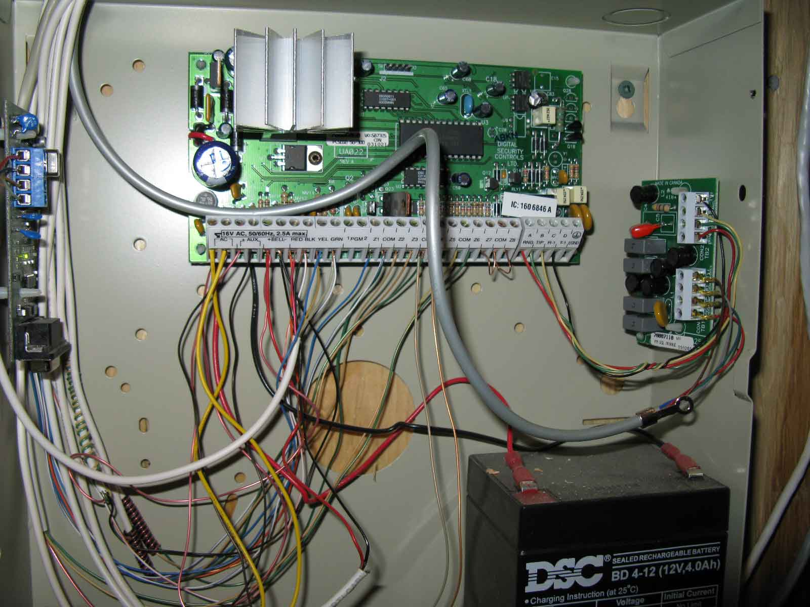 Dsc 1832 Panel Pc1832 Wiring Diagram Security System Zone Expander 1600x1200