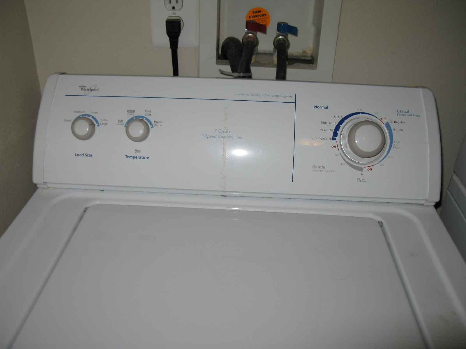 Kenmore Washing Machine Model Number Location Kenmore